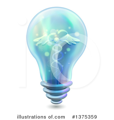 Light Bulb Clipart #1375359 by BNP Design Studio