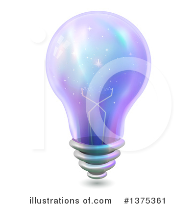 Light Bulb Clipart #1375361 by BNP Design Studio