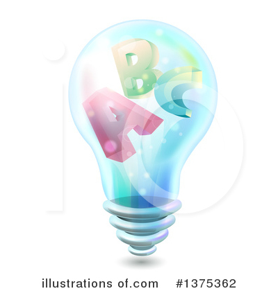 Light Bulb Clipart #1375362 by BNP Design Studio