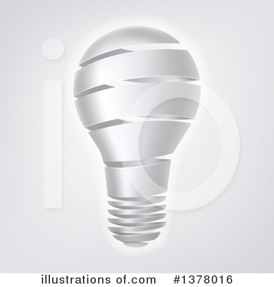Light Bulb Clipart #1378016 by AtStockIllustration