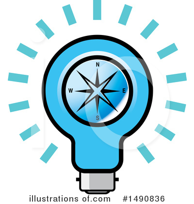 Light Bulb Clipart #1490836 by Lal Perera