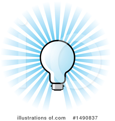 Light Bulb Clipart #1490837 by Lal Perera