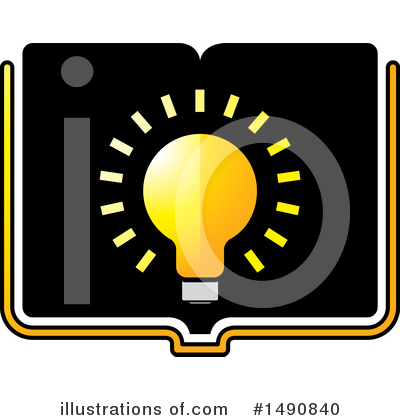 Book Clipart #1490840 by Lal Perera