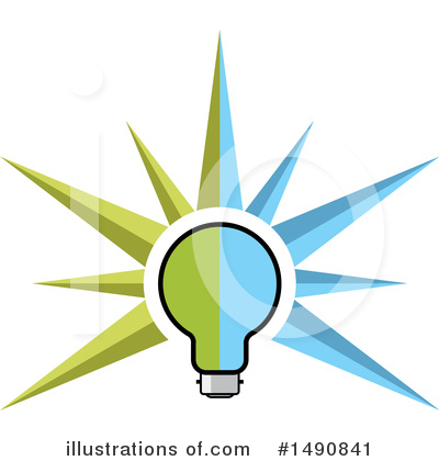 Light Bulb Clipart #1490841 by Lal Perera