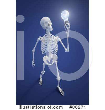 Royalty-Free (RF) Light Bulb Clipart Illustration by Mopic - Stock Sample #86271