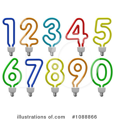 Numbers Clipart #1088866 by stockillustrations
