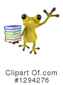 Light Green Frog Clipart #1294276 by Julos