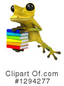 Light Green Frog Clipart #1294277 by Julos
