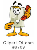 Light Switch Clipart #9769 by Toons4Biz