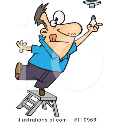 Ladder Clipart #1109661 by toonaday