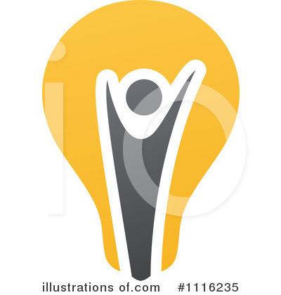 Lightbulb Clipart #1116235 by elena