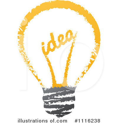 Lightbulb Clipart #1116238 by elena