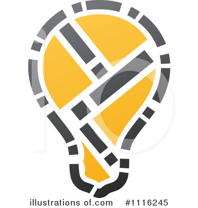 Lightbulb Clipart #1116245 by elena