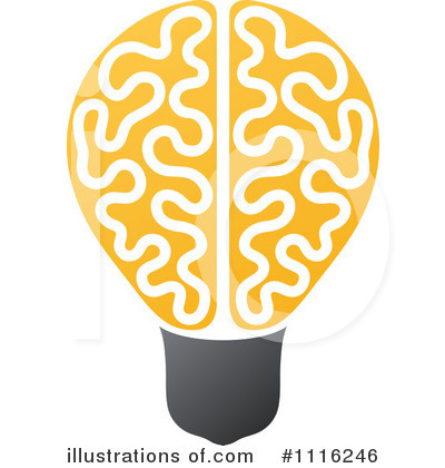 Lightbulb Clipart #1116246 by elena