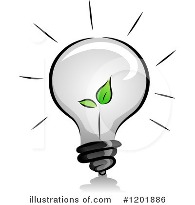 Light Bulb Clipart #1201886 by BNP Design Studio