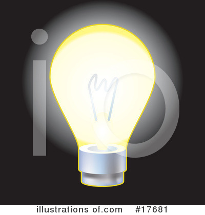 Light Bulb Clipart #17681 by AtStockIllustration
