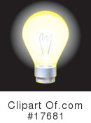 Lightbulb Clipart #17681 by AtStockIllustration