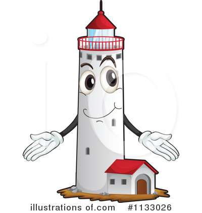 Lighthouse Clipart #1133026 by Graphics RF