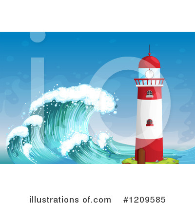 Wave Clipart #1209585 by Graphics RF