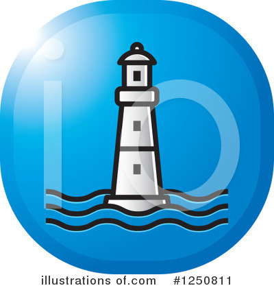 Lighthouse Clipart #1250811 by Lal Perera