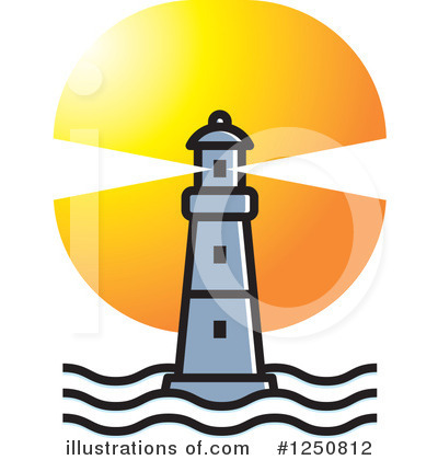 Lighthouse Clipart #1250812 by Lal Perera