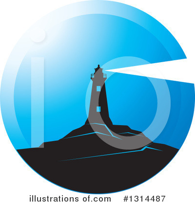 Lighthouse Clipart #1314487 by Lal Perera