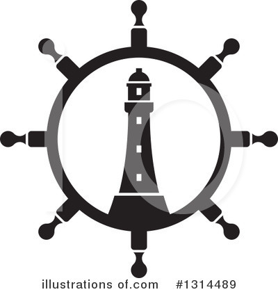 Lighthouse Clipart #1314489 by Lal Perera