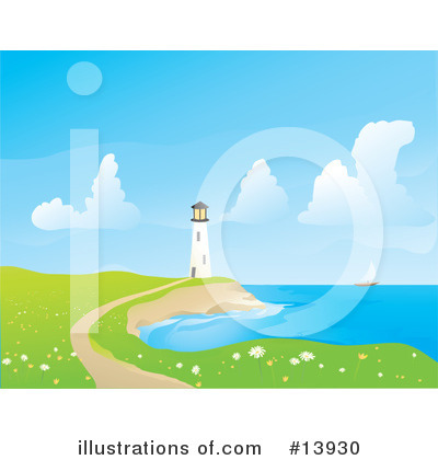 Lighthouse Clipart #13930 by Rasmussen Images
