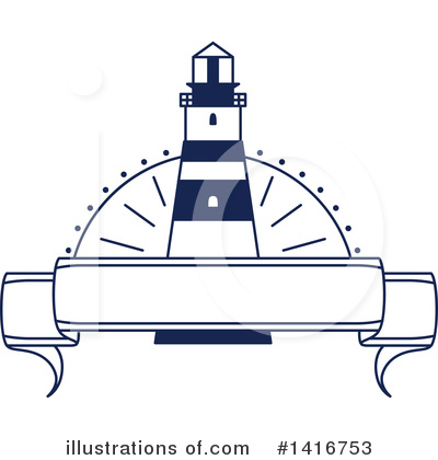 Lighthouse Clipart #1416753 by Vector Tradition SM
