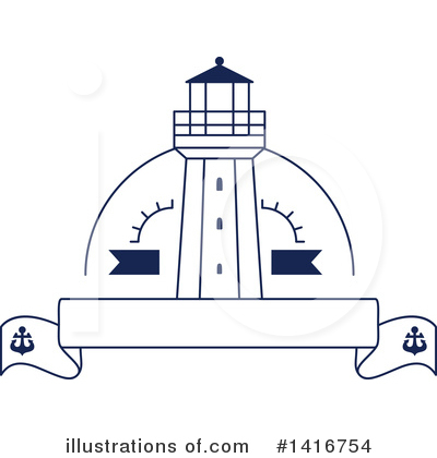 Lighthouse Clipart #1416754 by Vector Tradition SM