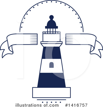 Lighthouse Clipart #1416757 by Vector Tradition SM