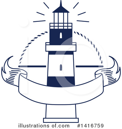 Lighthouse Clipart #1416759 by Vector Tradition SM