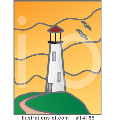 Lighthouse Clipart #14185 by Rasmussen Images