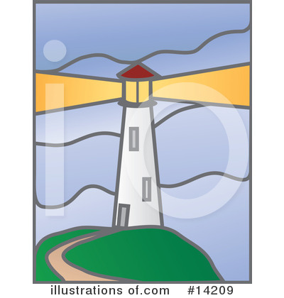 Lighthouse Clipart #14209 by Rasmussen Images