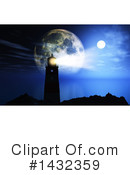 Lighthouse Clipart #1432359 by KJ Pargeter