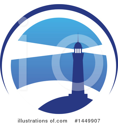 Lighthouse Clipart #1449907 by Vector Tradition SM