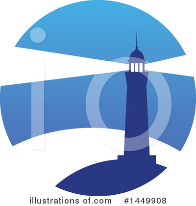 Lighthouse Clipart #1449908 by Vector Tradition SM