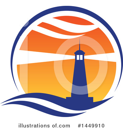 Lighthouse Clipart #1449910 by Vector Tradition SM