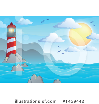 Lighthouse Clipart #1459442 by visekart