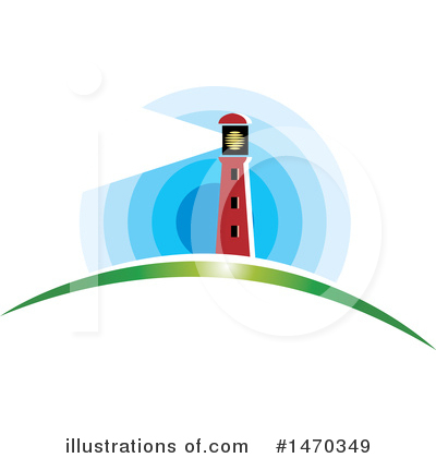 Lighthouse Clipart #1470349 by Lal Perera