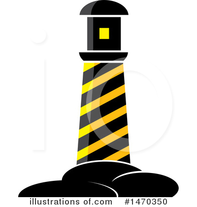 Lighthouse Clipart #1470350 by Lal Perera