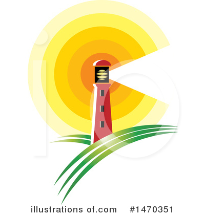 Lighthouse Clipart #1470351 by Lal Perera