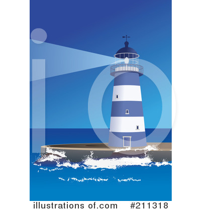 Lighthouse Clipart #211318 by Eugene