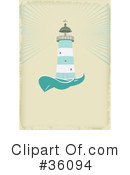 Lighthouse Clipart #36094 by Eugene