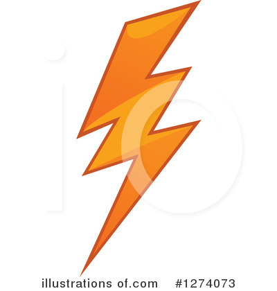 Lightning Clipart #1274073 by Vector Tradition SM