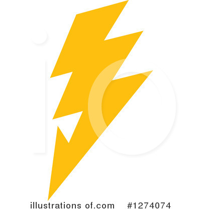 Lightning Clipart #1274074 by Vector Tradition SM