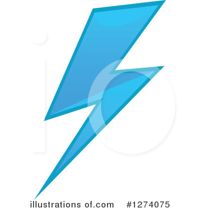Lightning Clipart #1274075 by Vector Tradition SM