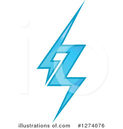 Lightning Clipart #1274076 by Vector Tradition SM