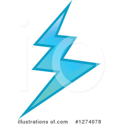 Lightning Clipart #1274078 by Vector Tradition SM