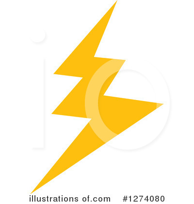 Lightning Clipart #1274080 by Vector Tradition SM